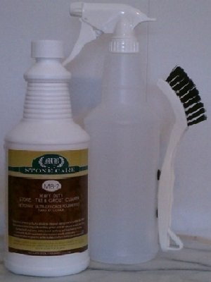 Stone Tile Grout Cleaner Kit
