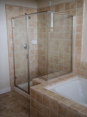 How to clean ceramic tile shower tile design ideas for How to clean a marble shower