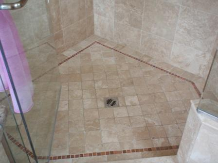 Cleaning shower tiles tile design ideas for How to clean bathroom grout mold
