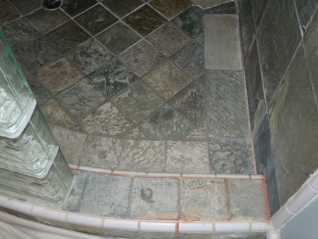 Cleaning Slate Showers How Clean Shower Tile
