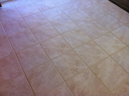 what is the best way to clean ceramic floor tile grout