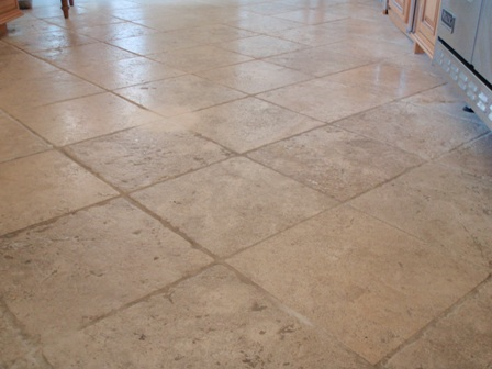 Natural Stone Floor Tiles Cleaning