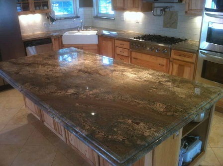 Kitchen countertop ideas types of kitchen countertops for Kitchen countertop designs ideas