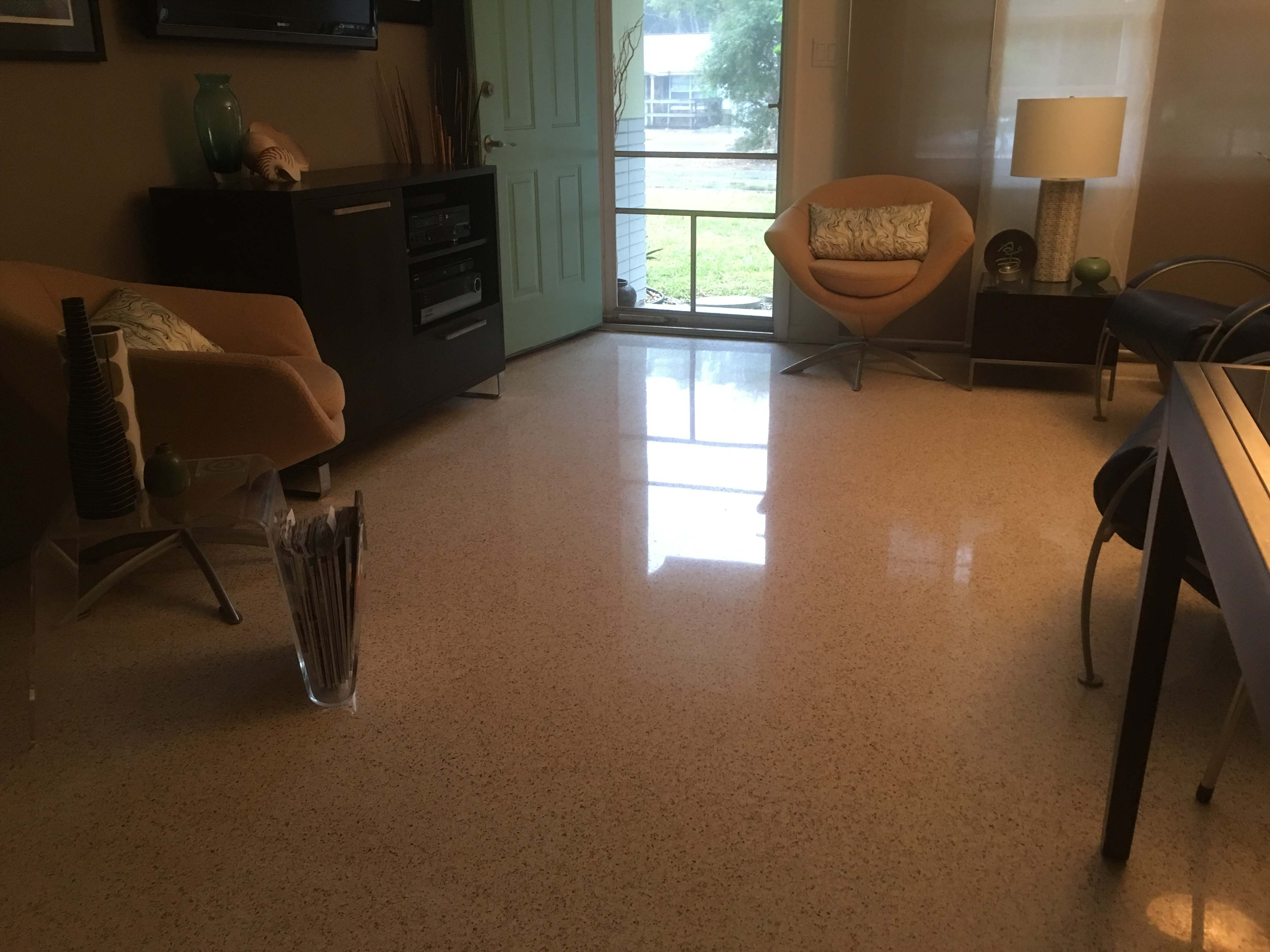 Maintenance of Terrazzo Floors