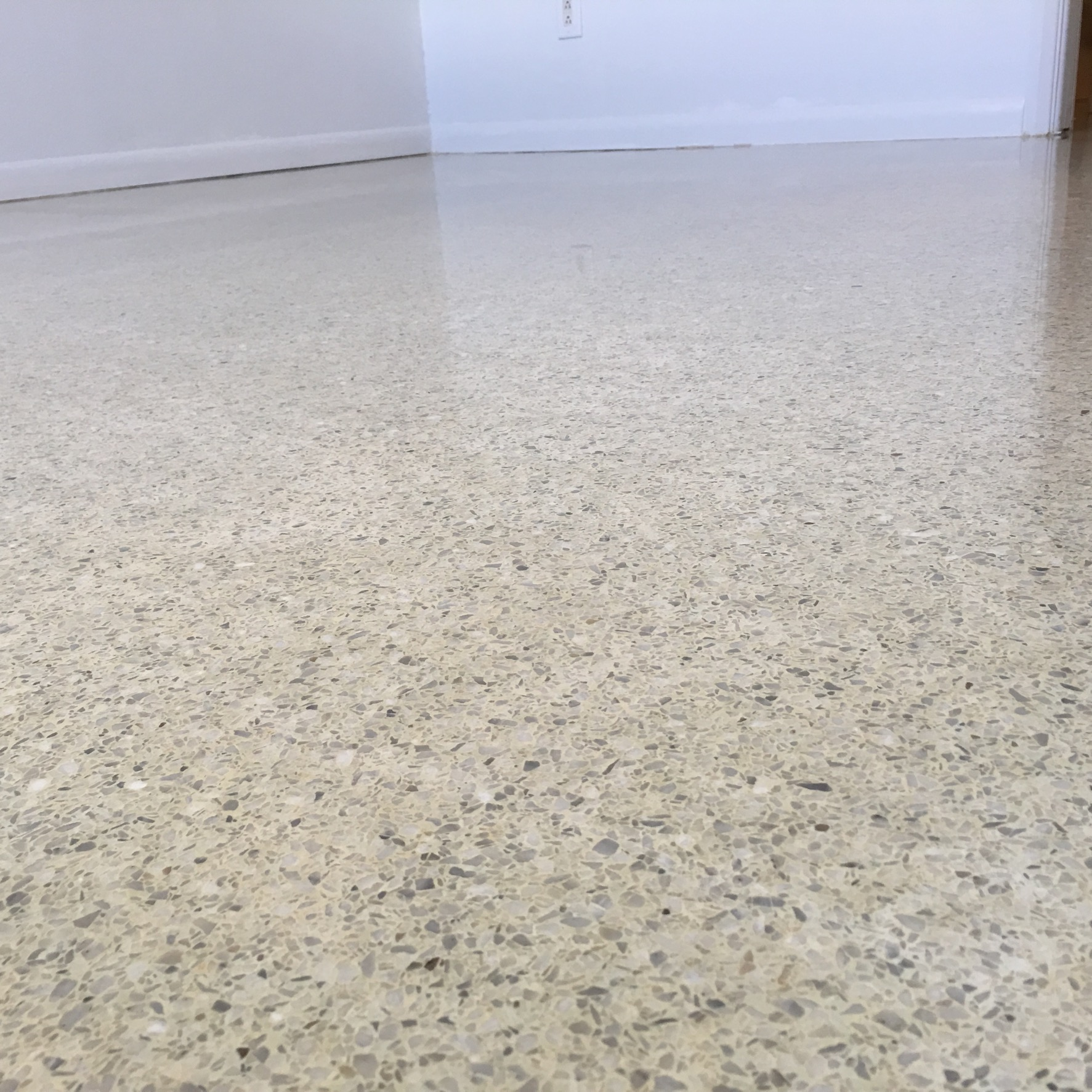 Terrazzo Floor Restoration Indian Rocks Beach Florida Terrazzo - How to clean old terrazzo floors