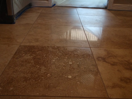 Polishing Travertine Floors
