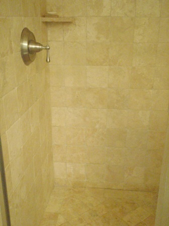 Travertine Shower Hot To Clean Travertine Tile Clean