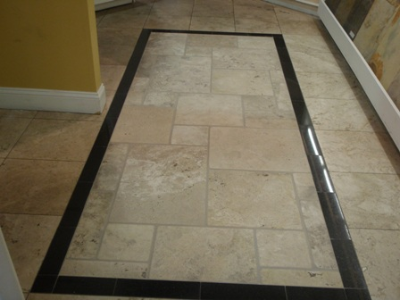 when cleaning your travertine floors mop the travertine tiles with your neutral cleaning solution or warm water