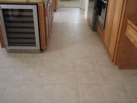 How to Clean ceramic tile and grout