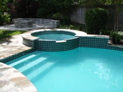 Great job cleaning pool tile for Pool design jobs