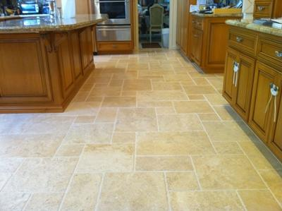 Clean Travertine Floor 1