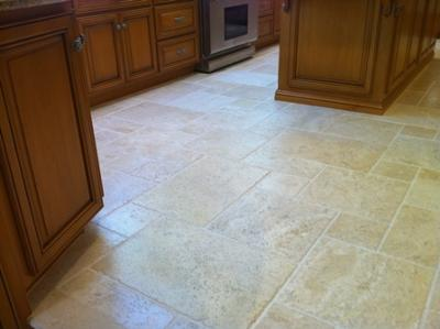 Clean Travertine Floor 2