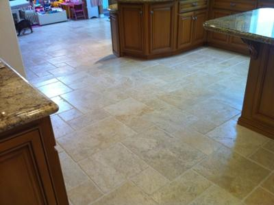 Clean Travertine Floor 3